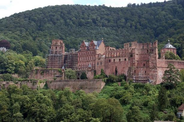 Heidelberg Castle, Alemania