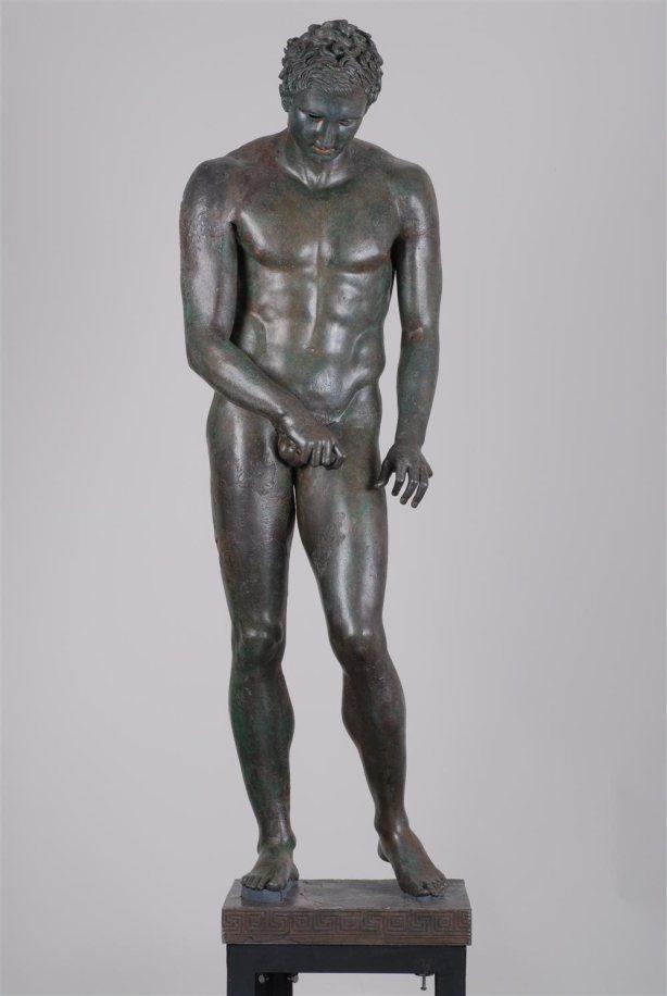 el apoxiomeno de croacia un atleta en bronce