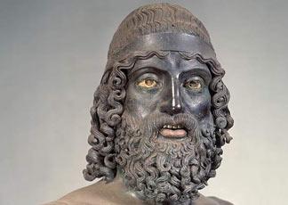 bronce de Riace guerrero B