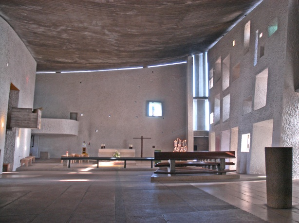 Ronchamp interior