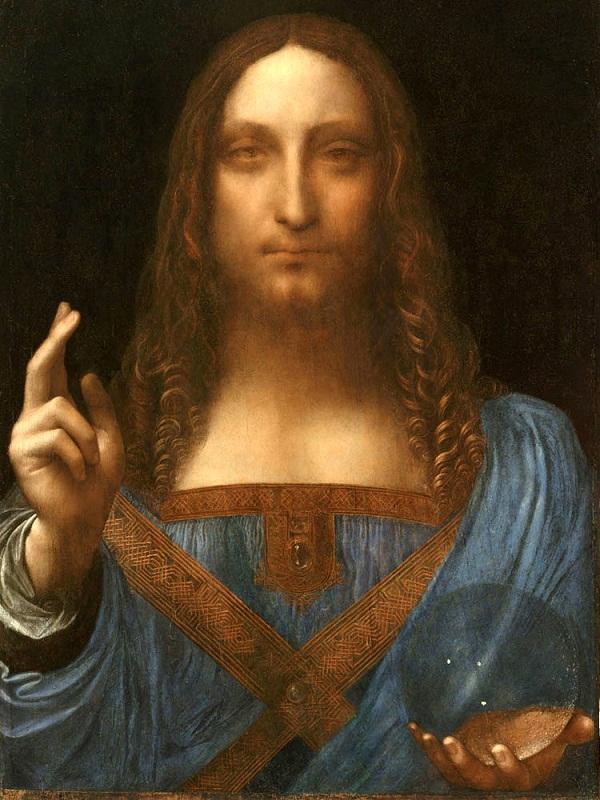 Leonardo Da Vinci -  Salvator Mundi (1499)