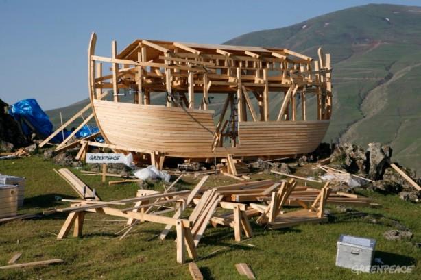 Noah's Ark on Mount Ararat