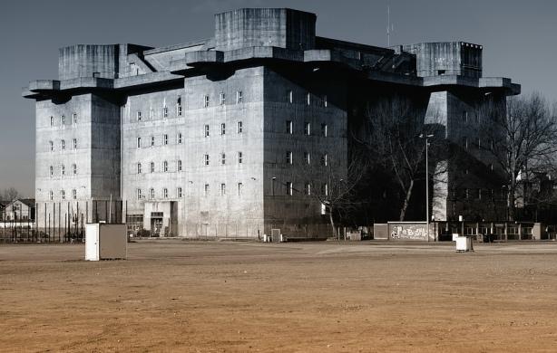 Flaktürmes. Las Torres Bunker de Hamburgo
