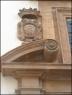 Cruz de los Templarios en la fachada