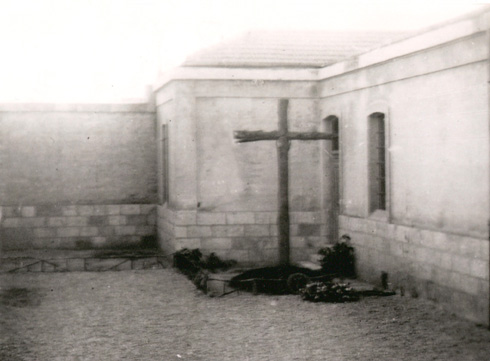 Patio donde fue ejecutado