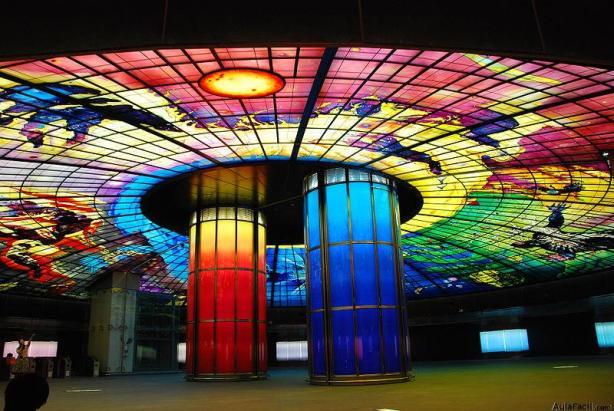 Estación del Boulevar Formosa, en Taiwán,