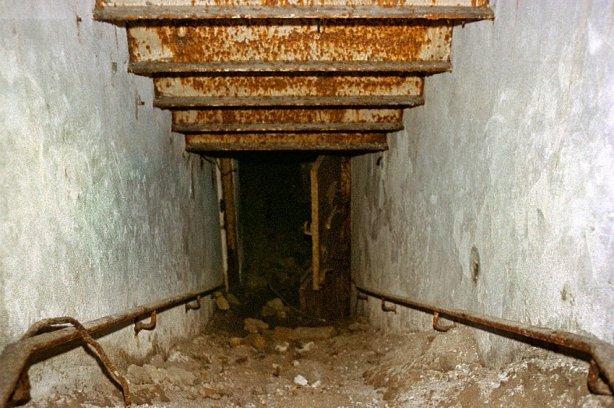 os cuarenta escalones de -bunker.
