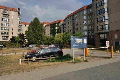 Ubicación del Führerbunker en la actualidad
