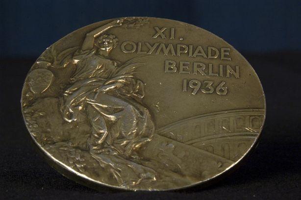 medalla-de-oro-de-Wood-Ruff-en-los-Juegos-Olímpicos-de-Berlín-de-1936