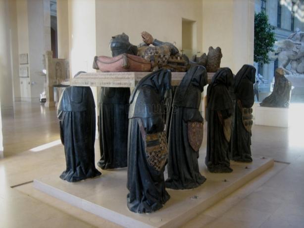 Tumba de Philippe procedente de la Abadia de Citeaux