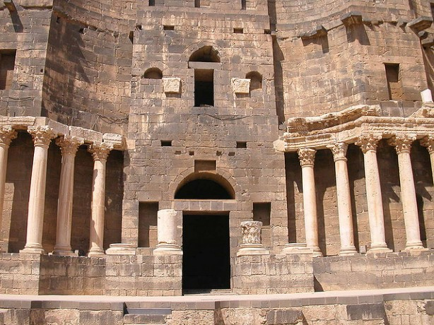 teatro romano de  Busra al Sham,