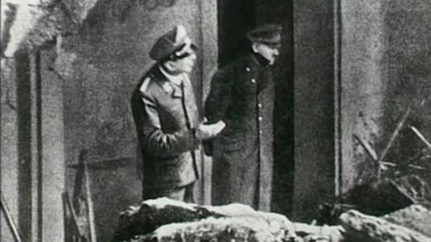 Última foto de Hitler con vida en su búnker