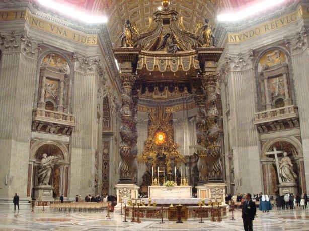 Vaticano - Basílica de San Pedro