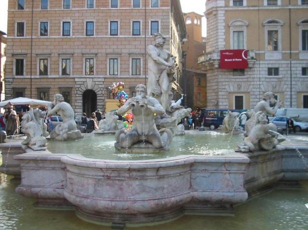 la fontana del moro