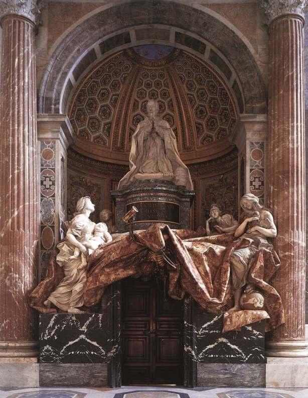 tumba de alejandro VII