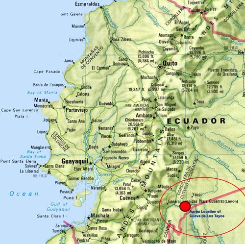 mapa cueva
