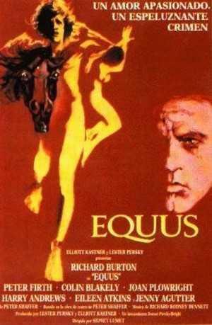 Equus (1977): inusual drama psicológico (por su premisa argumental y posteriores revelaciones) con retazos de intriga y suspense, con un fenomenal Richard Burton en el papel de un psiquiatra que trata de descubrir qué conduce a un adolescente Peter Firth a mutilar (dejar ciegos) a unos caballos. Film de una cierta veneración por el cinéfilo europeo debido a su producción británica, absorbe e implica al espectador a medida que avanza sobre la sobria dirección de un Lumet maduro y respetuoso con el material literario que adapta. Junto con Asesinato en el Orient express pasa por ser lo más recomendable de Lumet dentro de la parcela british de su obra.