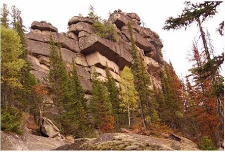 KEMEROVO Las rocas ciclópeas halladas en Shoria, Kemerovo.