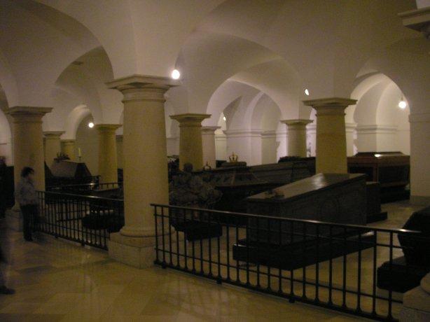 Cripta donde están enterrados las familias reales alemanas